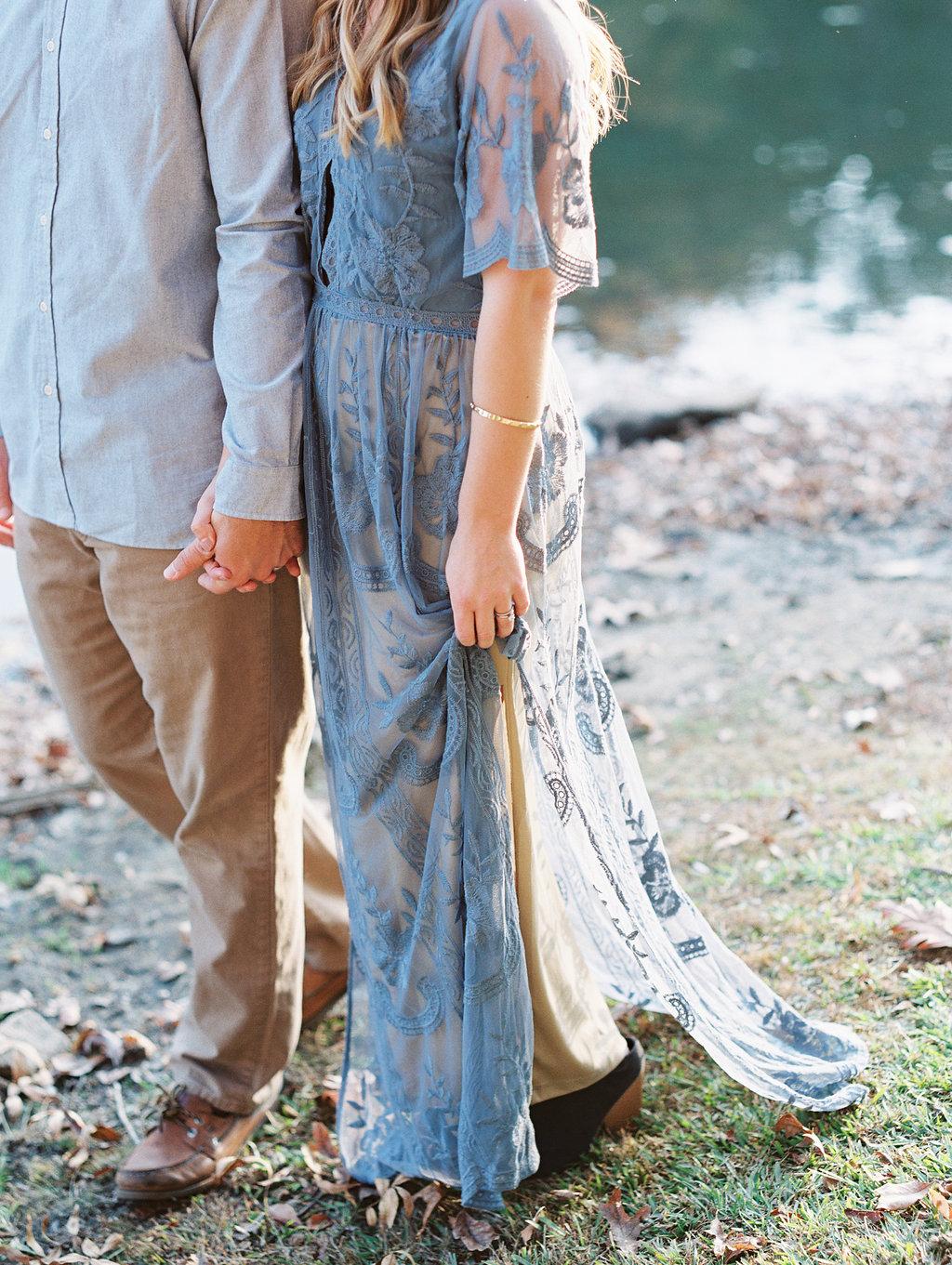 engagement session dress Atlanta