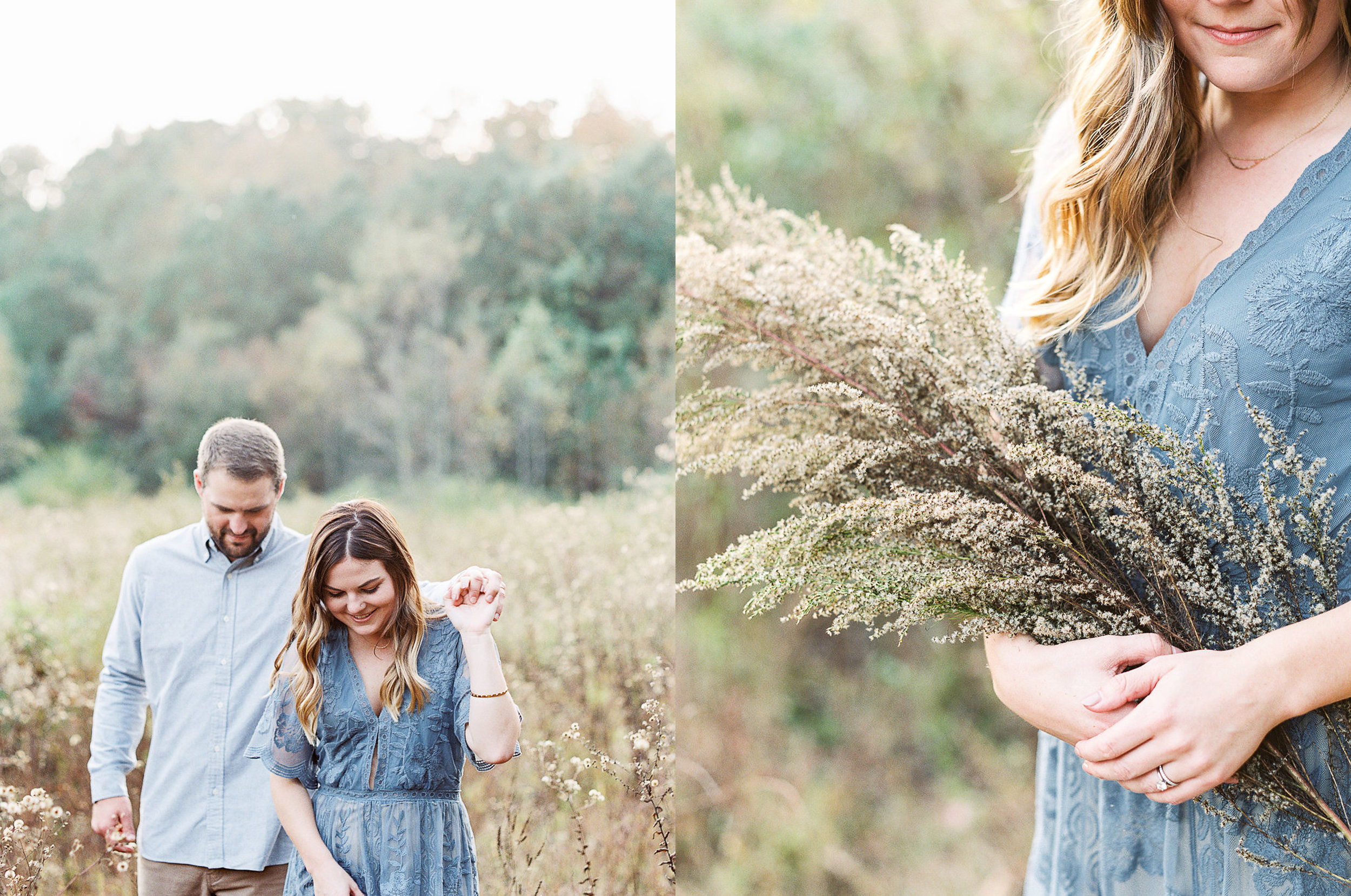 Serenbe wedding engagement session photography