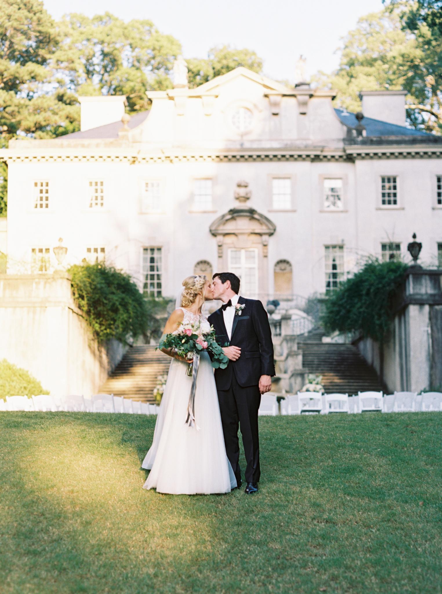 Atlanta wedding photographer fine art Swan House