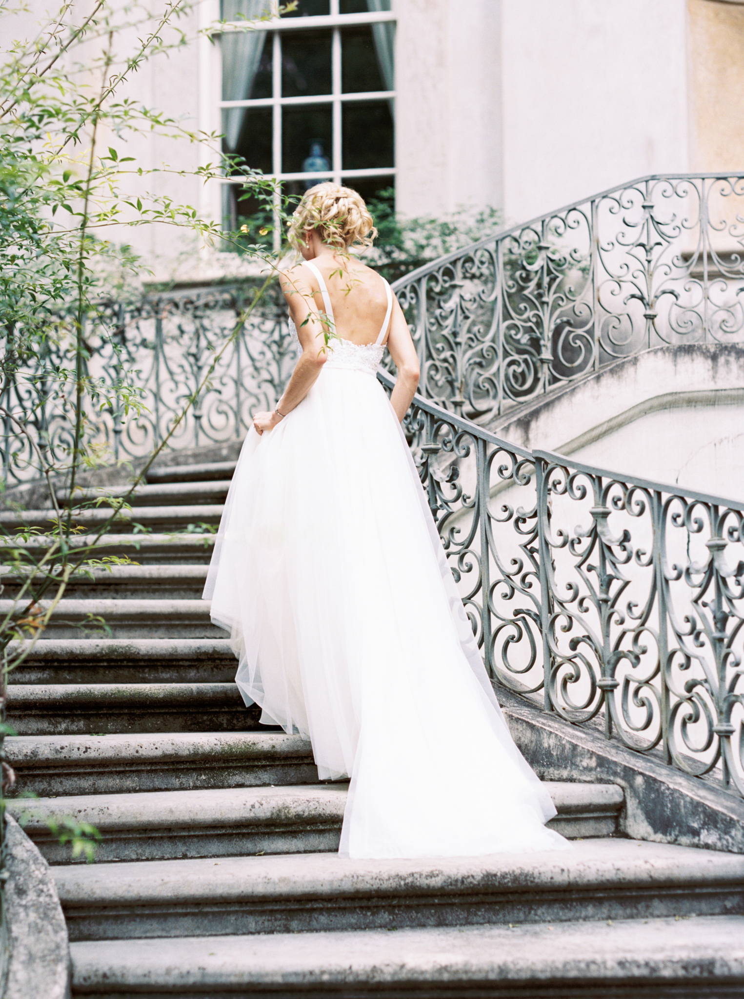 Swan House wedding photographer film