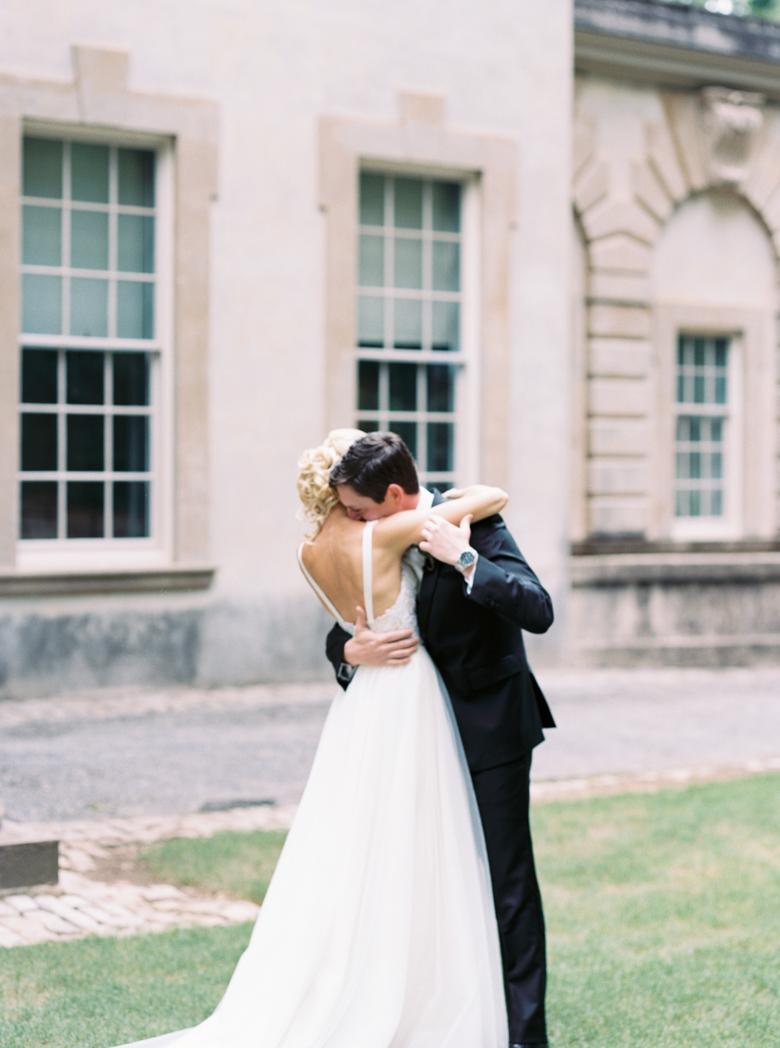 Swan House wedding photographer film fine art