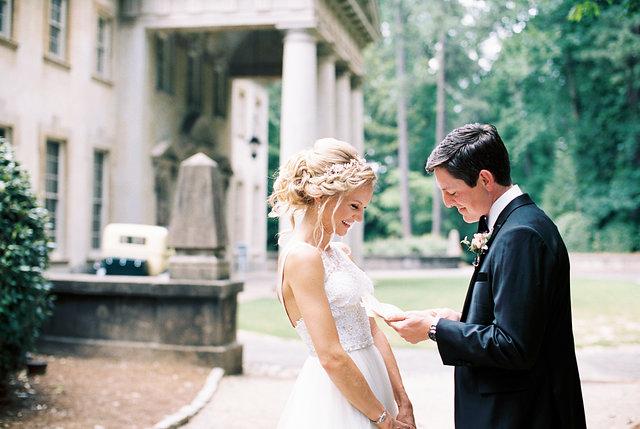 Swan House Wedding spring photographer