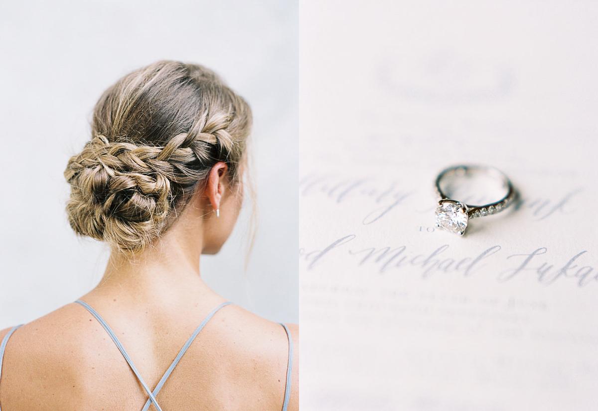 braided wedding hair braid updo