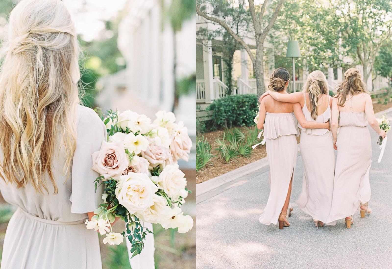 Watercolor Florida wedding spring pastel