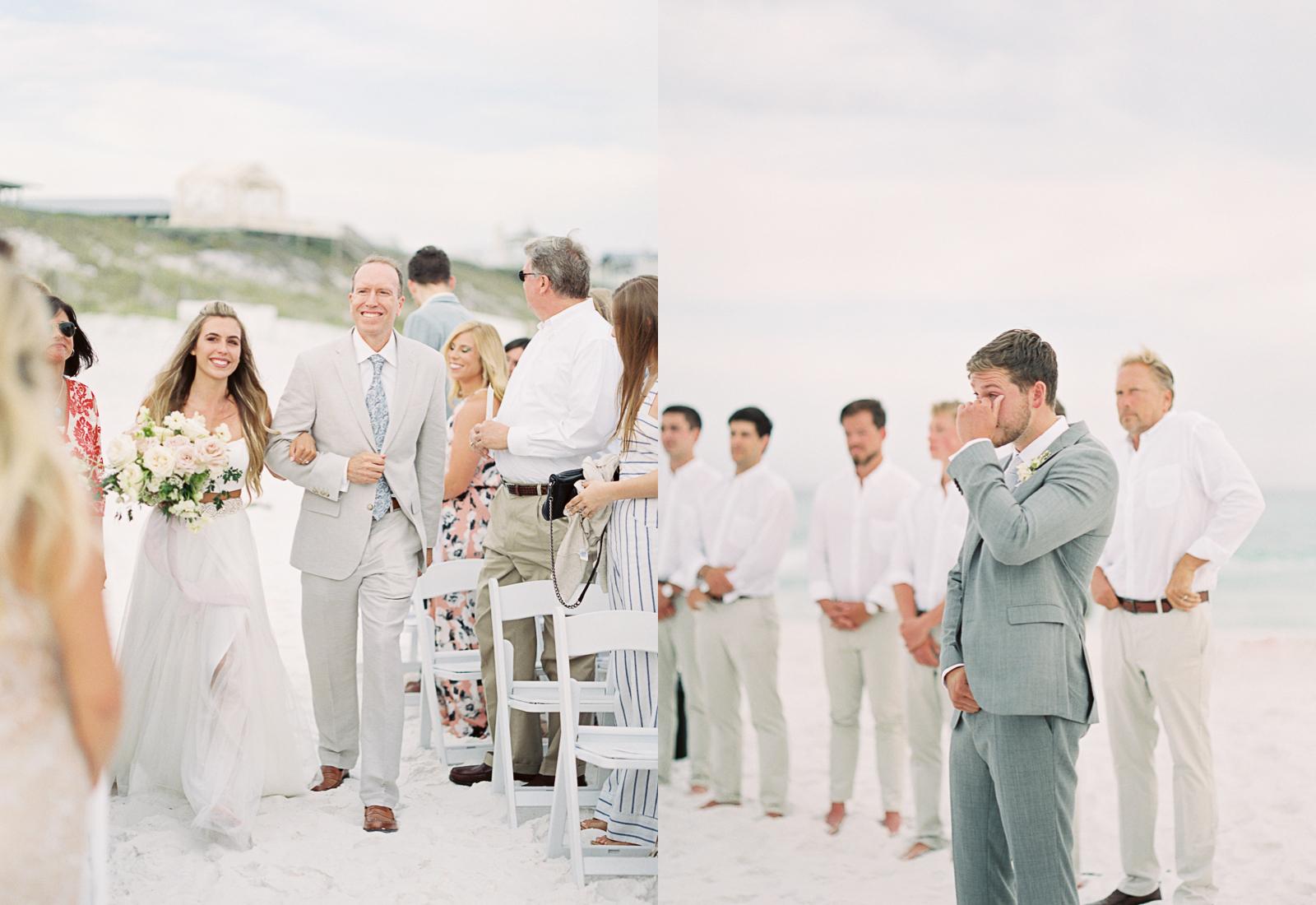 Alys beach wedding outdoor