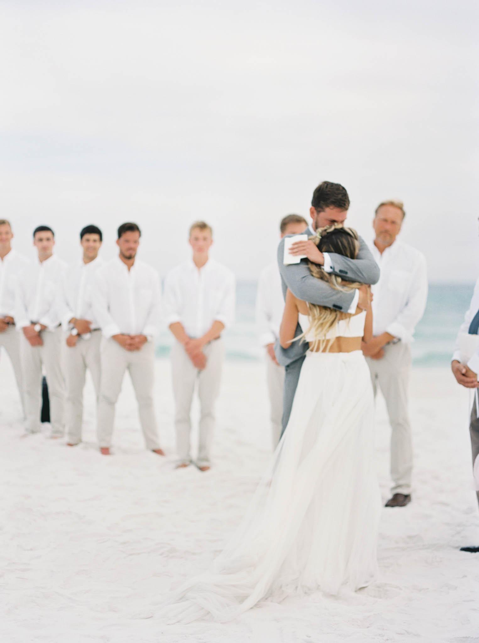 Alys beach outdoor wedding