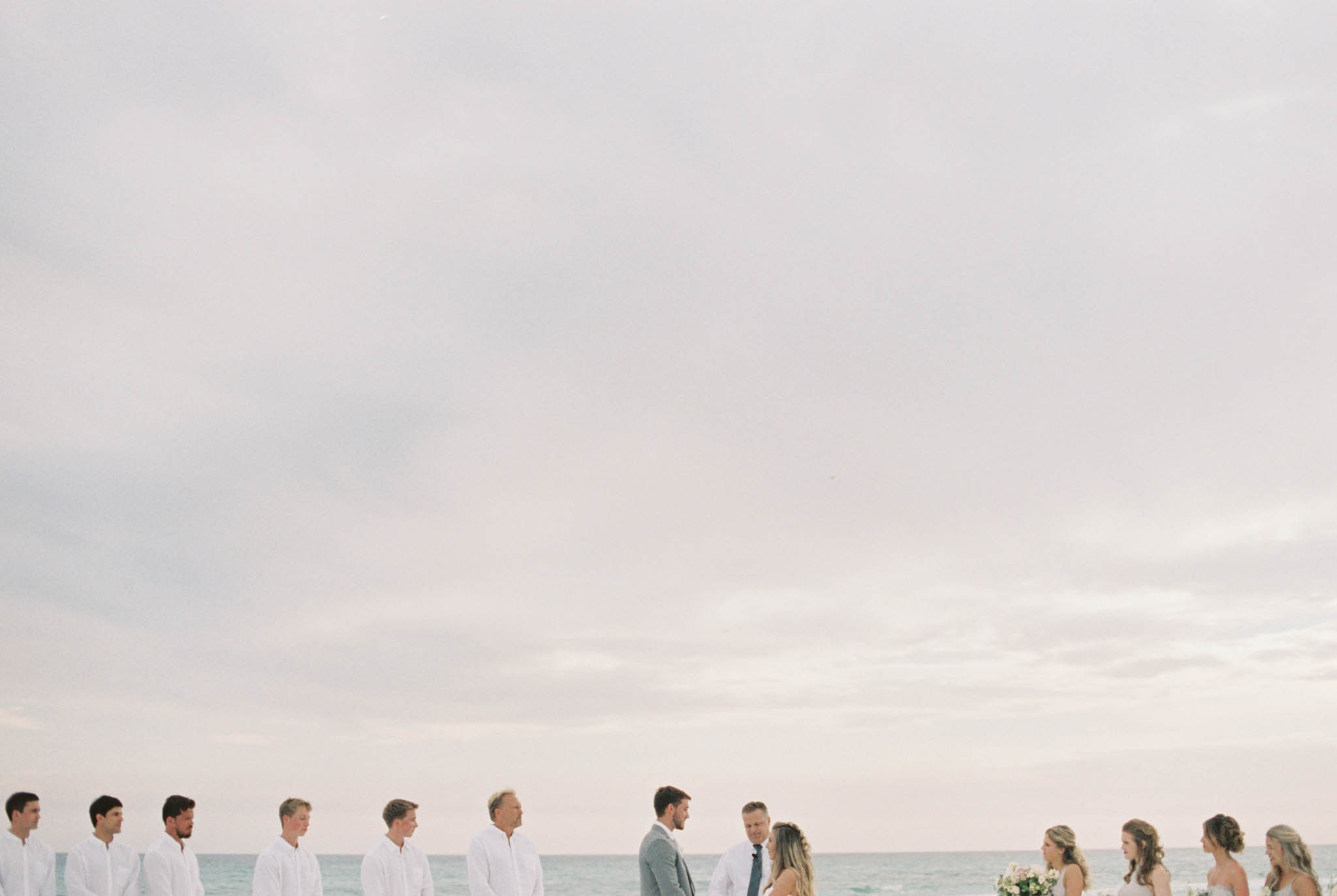 Rosemary Beach outdoor wedding fall