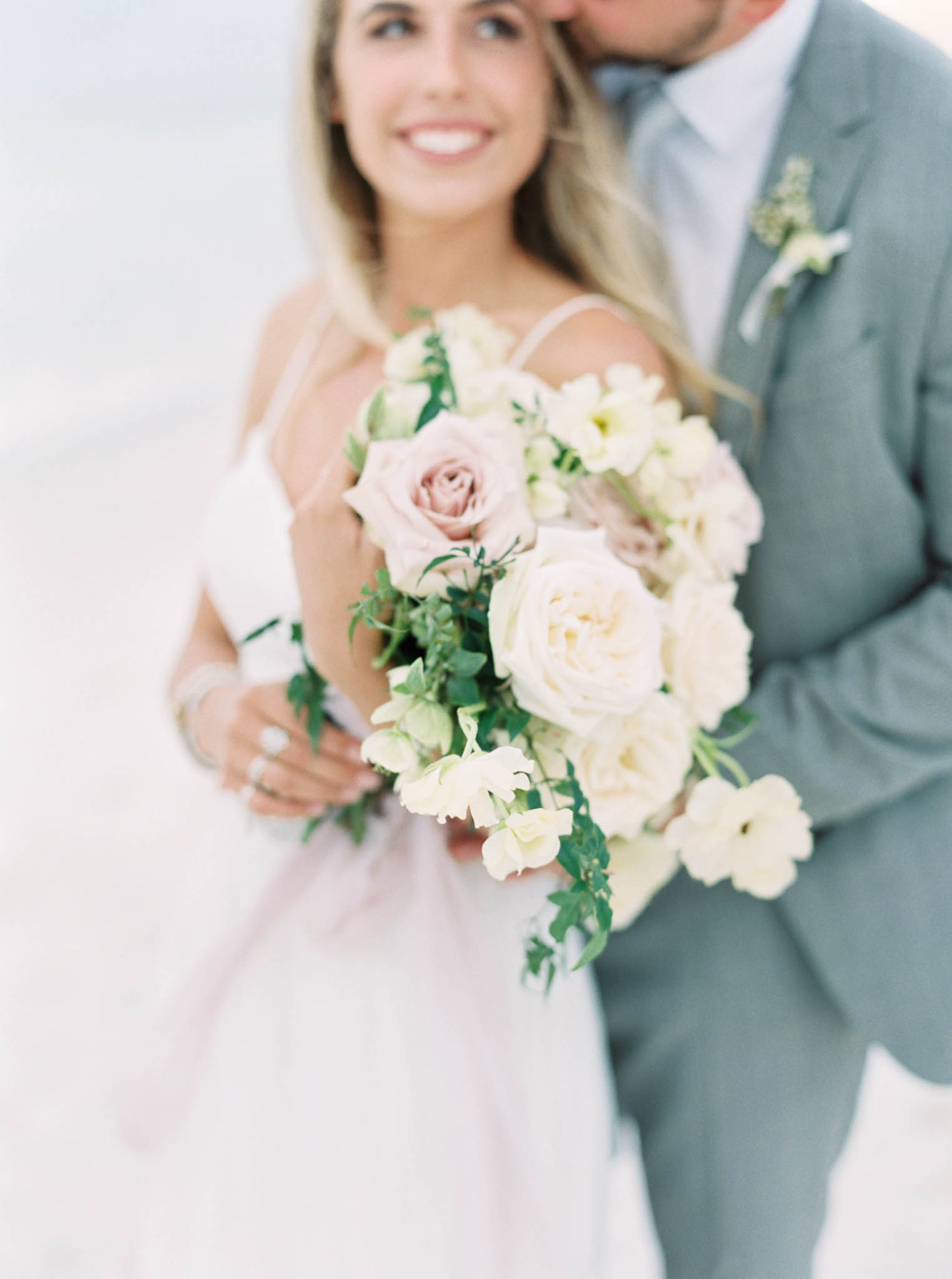 Alys beach wedding neutral colors