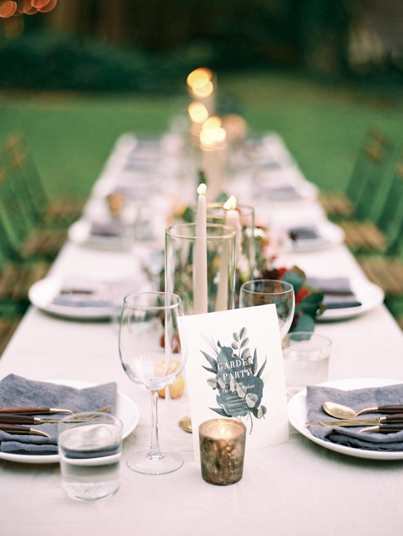 Organic wedding design