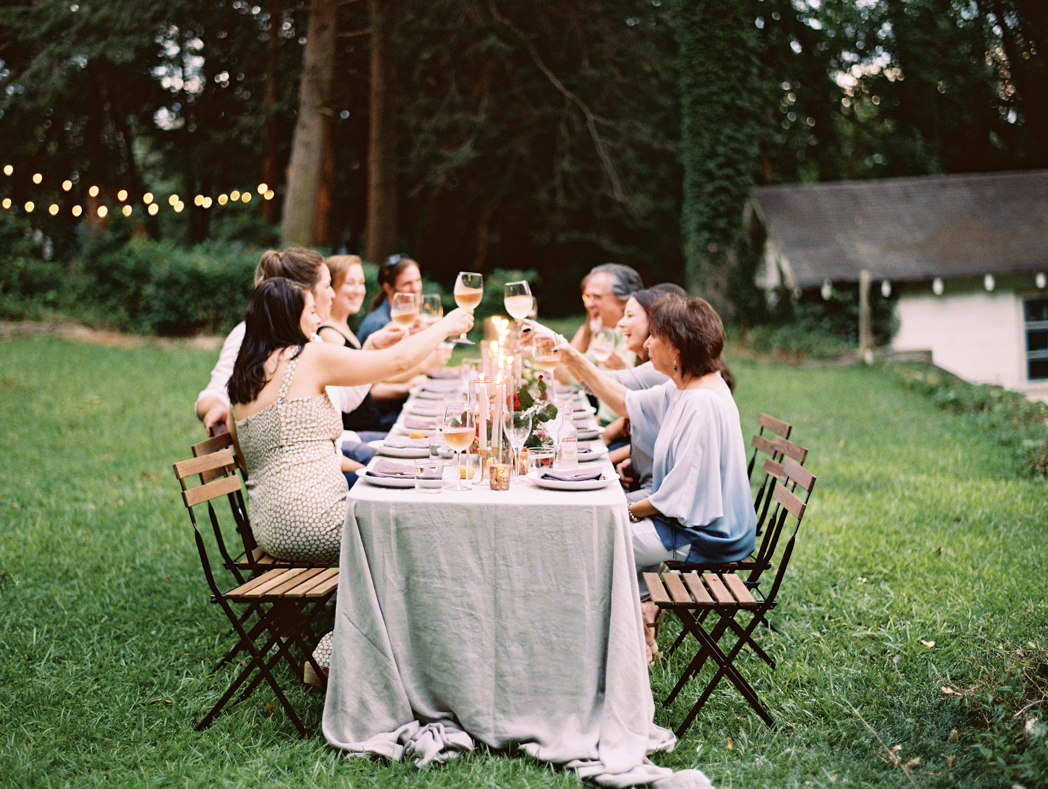 Farm to table dinner Georgia