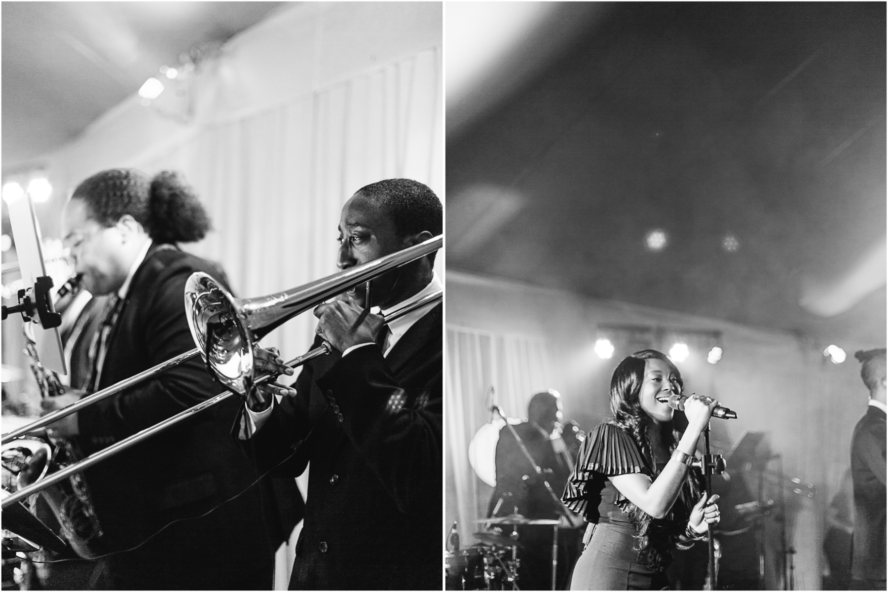 Wedding band Charleston luxury