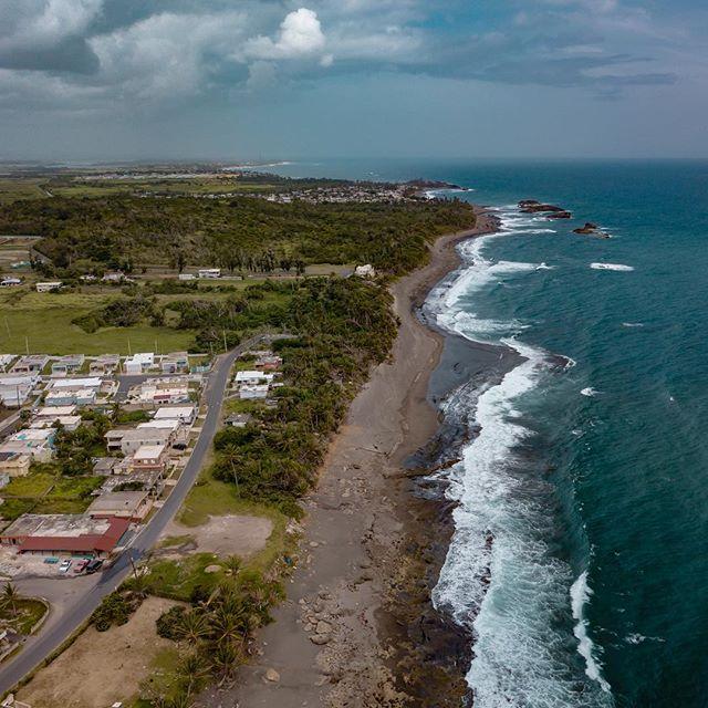 One of the coastal areas of #puertorico. @djiglobal #djimavicpro #mavicpro #dronephotography