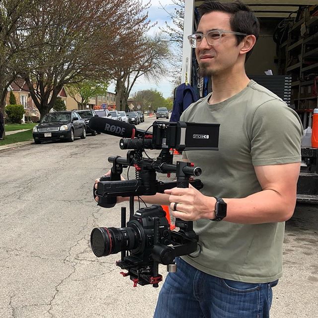 It's been a busy week working with @sunrunsolar but having the opportunity to produce great work always feels good. Sunrun installs #solarpower #solarpanels in #chicago @chicago and the surrounding areas. It feels good to work with a company that's looking out for the #environment. . . . @canonusa @djiglobal @smallhd #teamcanon #filmmaking #videoproduction #videography #cinematography #video #location #greenenergy @yearsofliving
