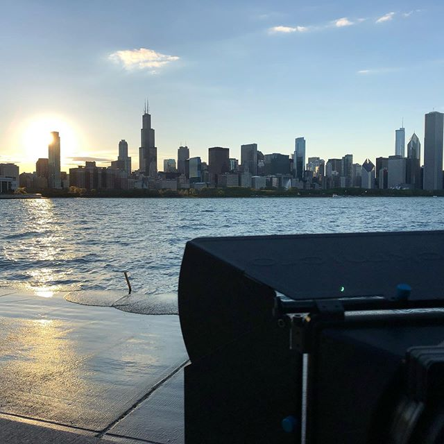 Hanging out with some #ducks #ducksofinstagram while capturing a #timelapse #sunset of #chicago . . . . . @canonusa  @redrockmicro  #teamcanon #filmmaking #videoproduction #videography #cinematography #video #location