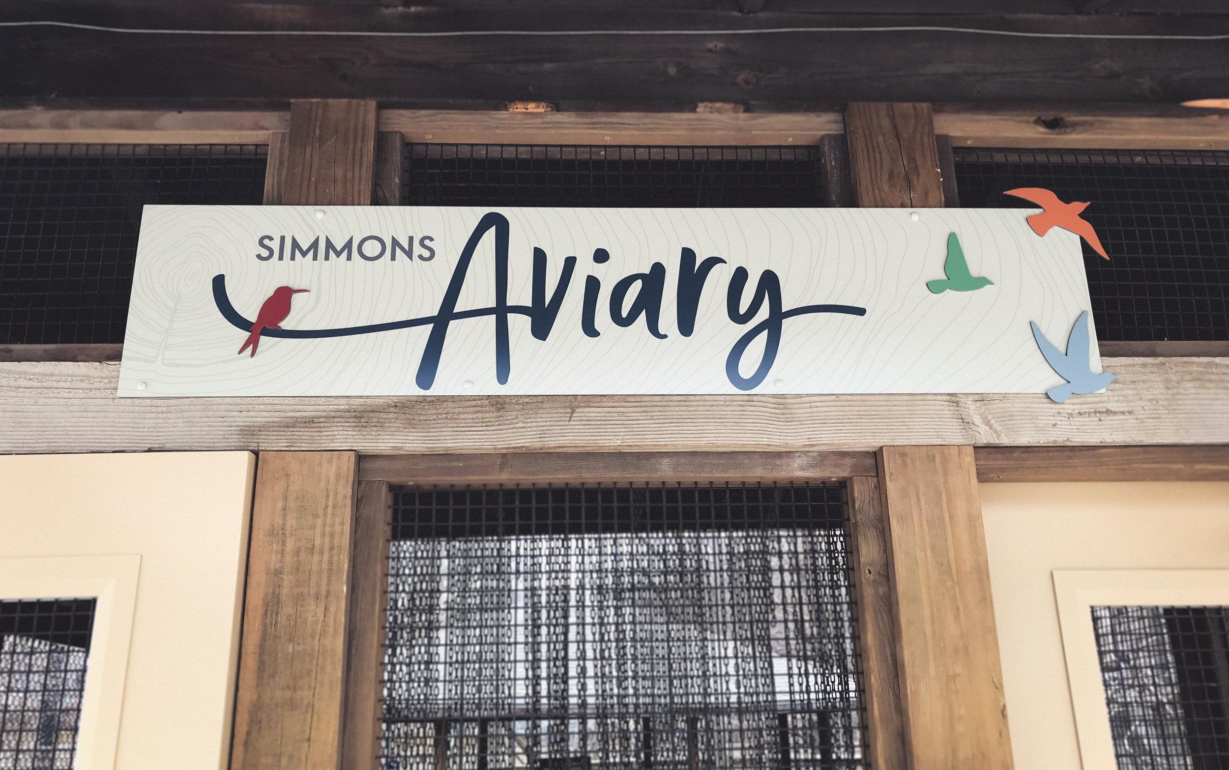 OHDZA's Aviary Exhibit