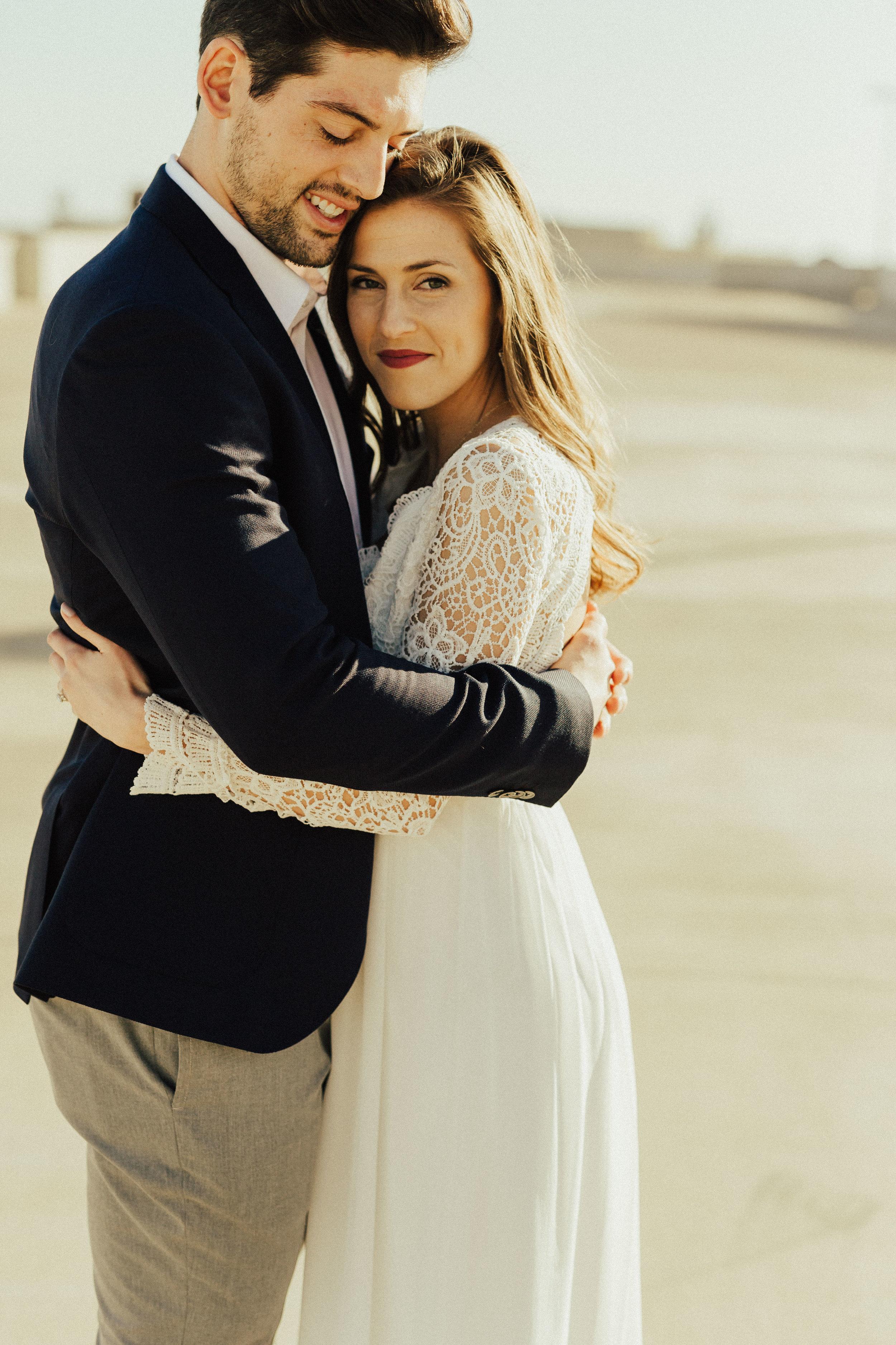 Morgan + Christian | Engagements | Austin, TX skyline & Emma Long Metropolitan Park-14