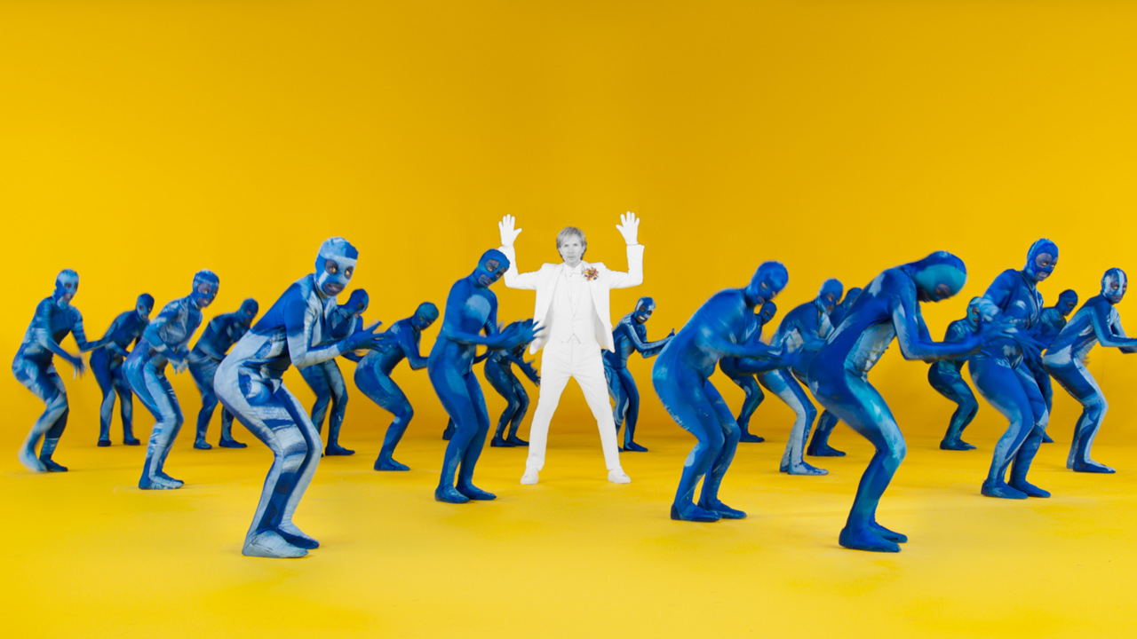 beck colors music video