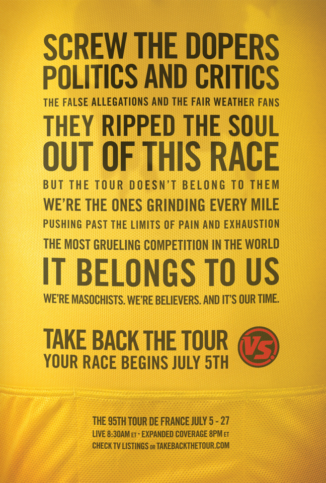 With the professional cycling world plagued by scandal, we reminded fans what they love about their sport.