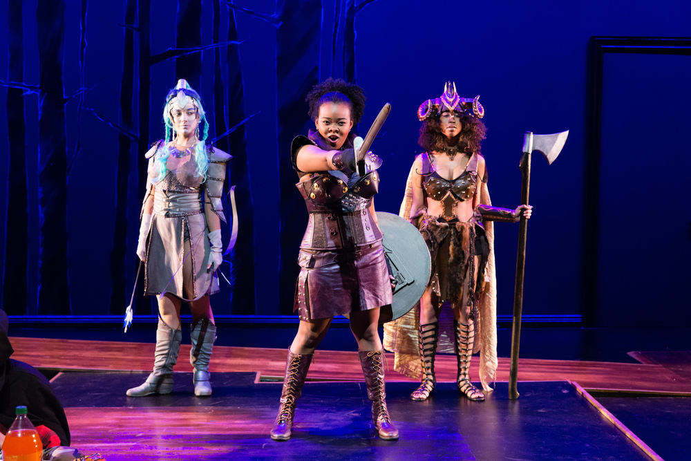SHE KILLS MONSTERS - by Qui NguyenDirected by Glynis RigbsyScenic Design by Michael MinahanCostume Design by Seth BodieLighting Design by Miriam CroweSound Design by Beth Lake