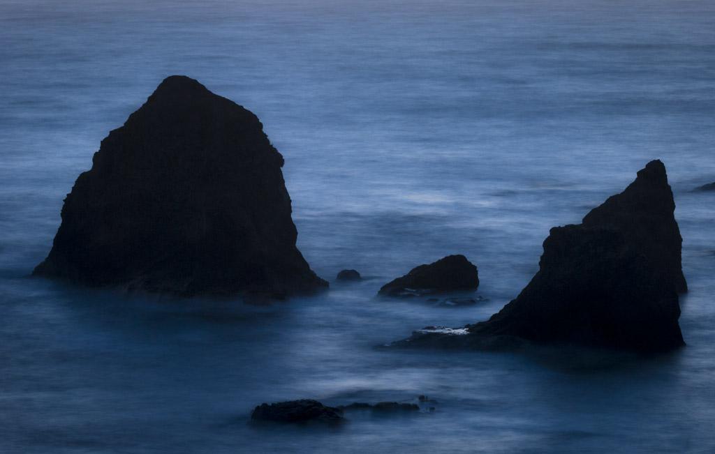 Coastal sea stacks, Northern California