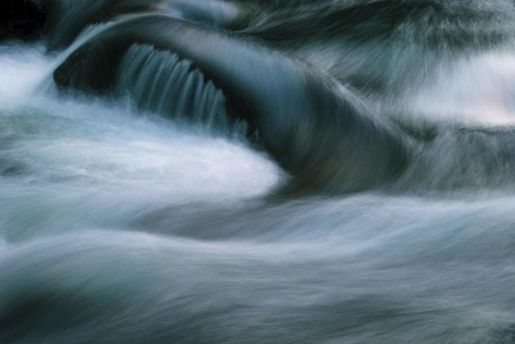 Icicle Creek in Leavenworth, Washington