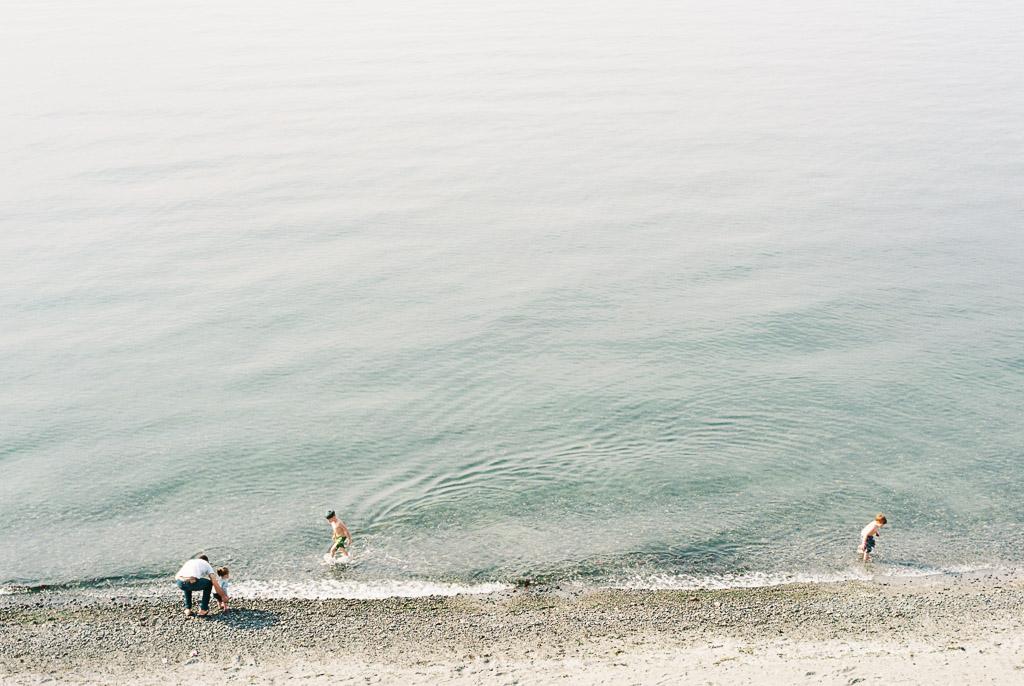 Spring on Puget Sound ~   Kodak Ektar 100