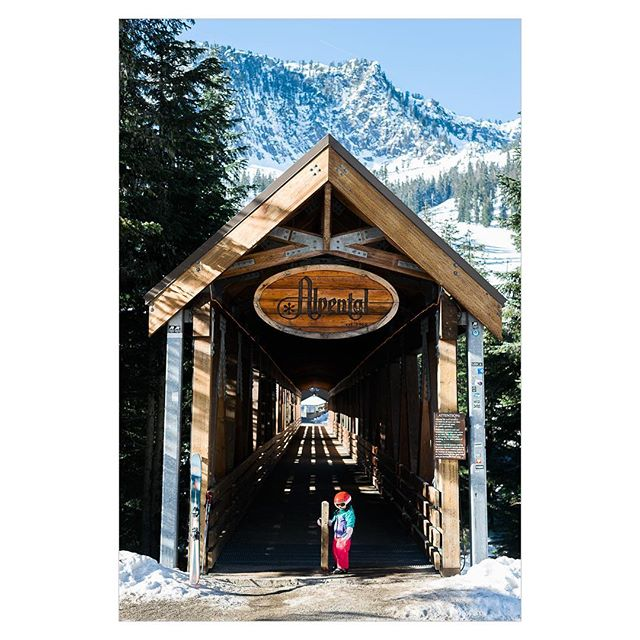 There's a first time for everything. . Alpental, WA #skiing #winter #startthemyoung