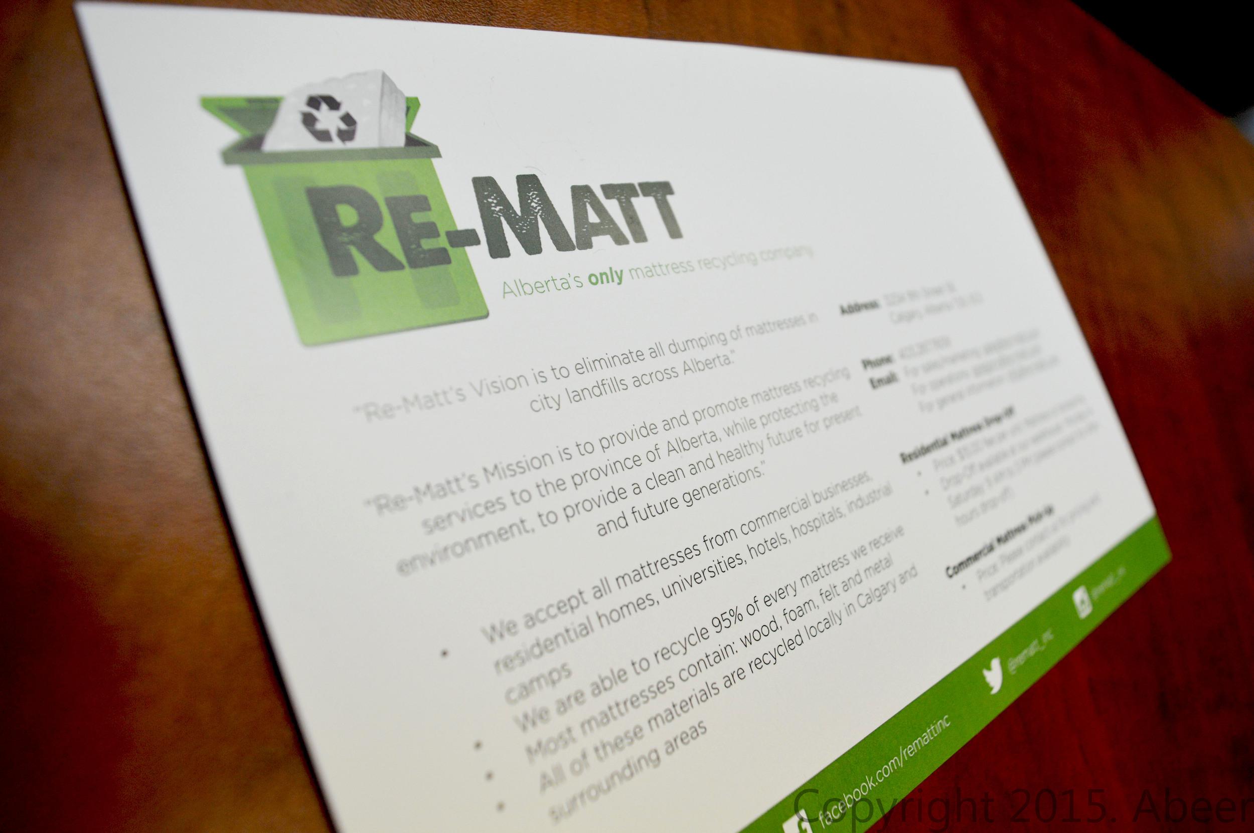 Re-Matt Inc.