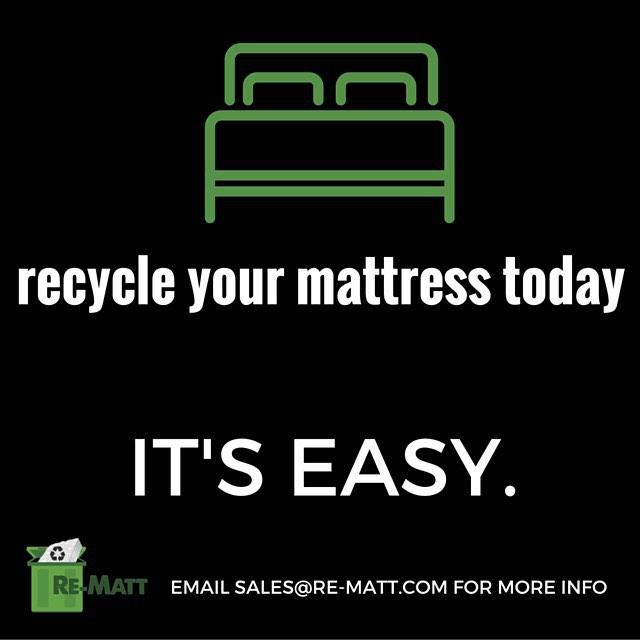 What are you waiting for? If you or someone you know needs to dispose of a mattress, contact us today! WE RECYCLE! #easychoice #greenchoice #onlychoice #rematt #yyc #alberta ♻️♻️♻️♻️♻️♻️♻️♻️♻️♻️♻️♻️♻️♻️♻️♻️♻️♻️♻️♻️♻️♻️