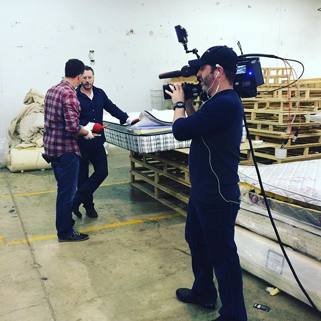 Excited to have @btcalgary on location today @rematt_inc!! Watch us LIVE at: http://www.btcalgary.ca #yyc