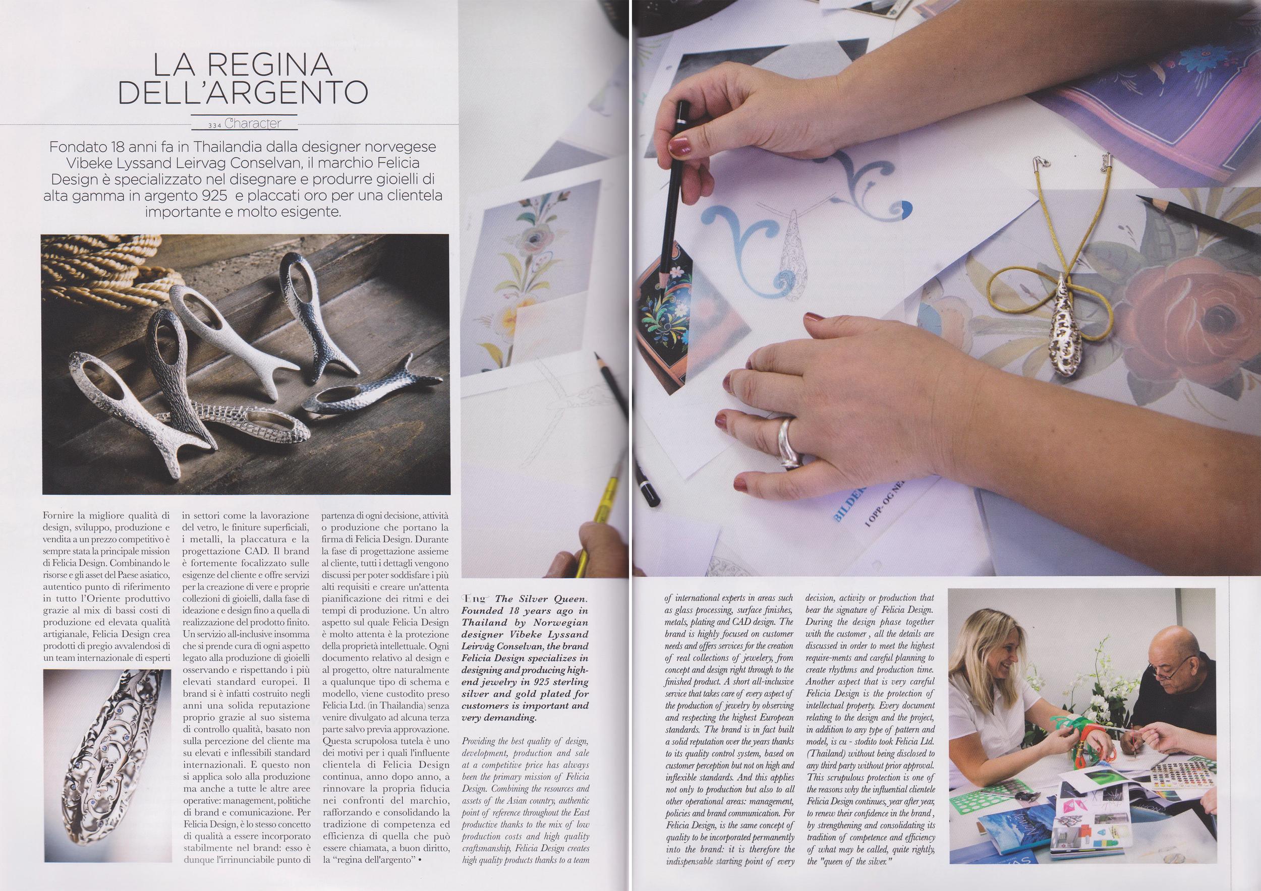 VIORO Magazine (Winter). Italian.Editorial: Vibeke and Felicia Design.