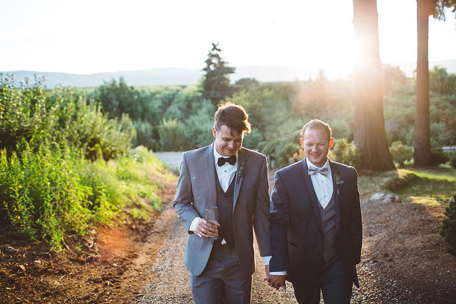 Kevin + Daniel    Mt Hood Wedding    Parkdale, OR