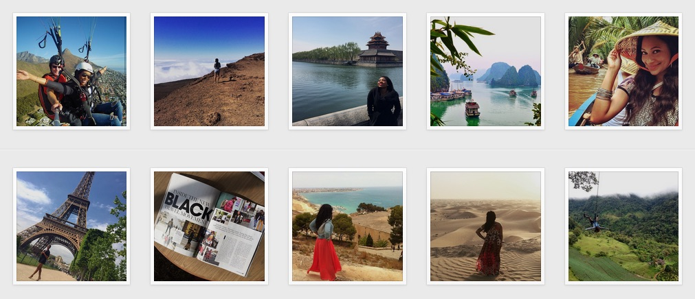 Thousands of people from all over the world follow Travel Noire.Over 100K followers in a little over a year. Being featured on their Instagram has become a social badge of honor to many travelers far and wide.