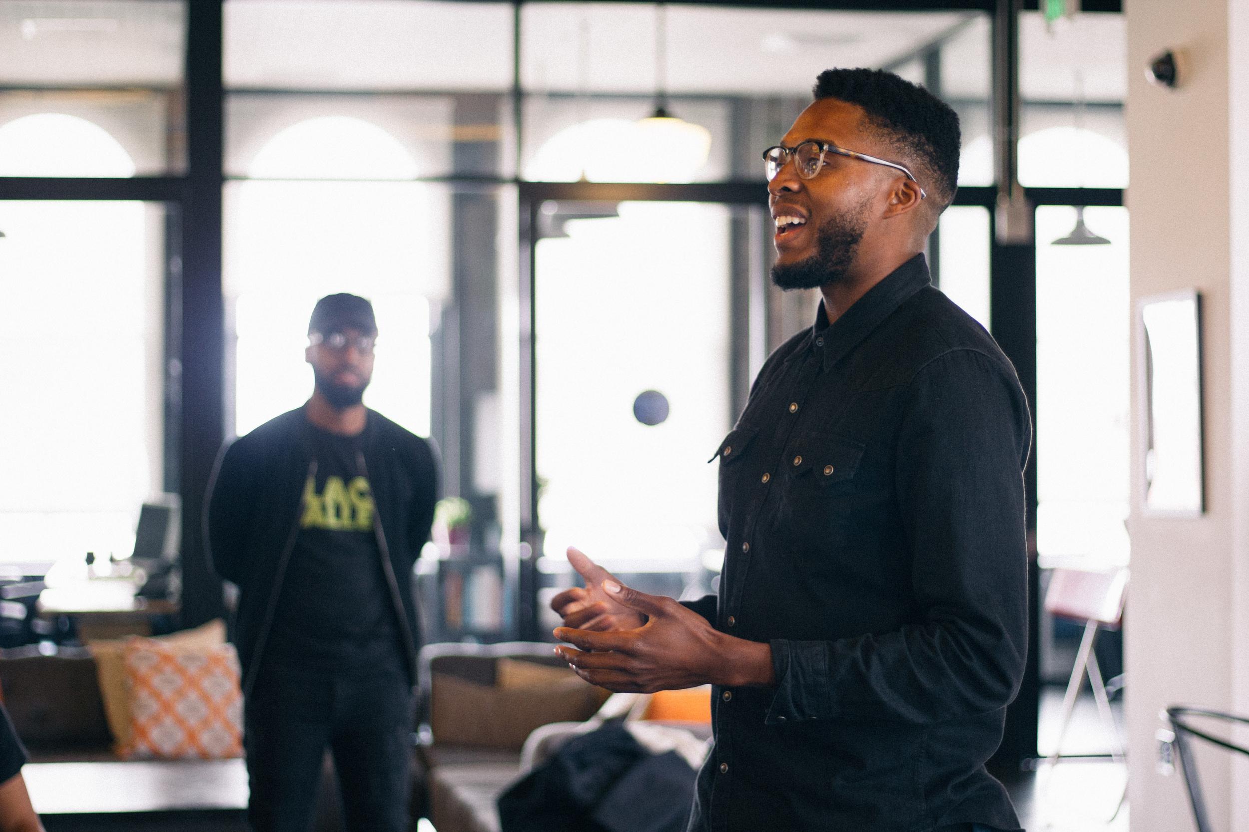 Anwar Bey-Taylor - Motivational speaker and CEO of Mind Traveler Design