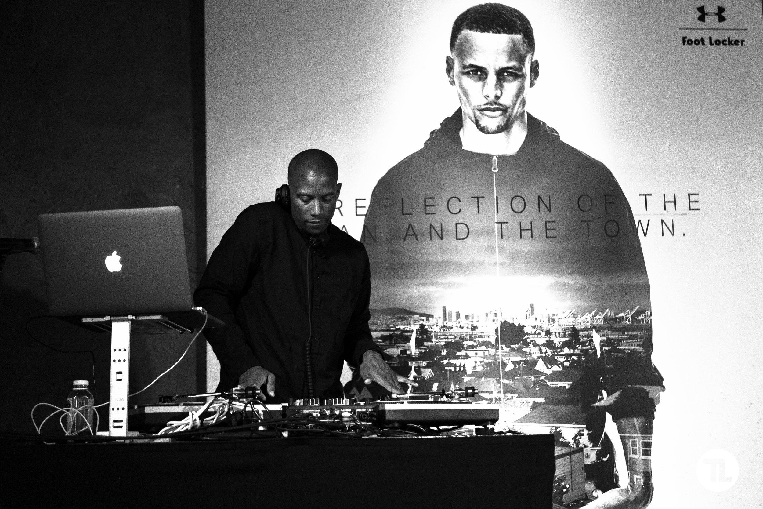 Golden State Warriors DJ, D-Sharp