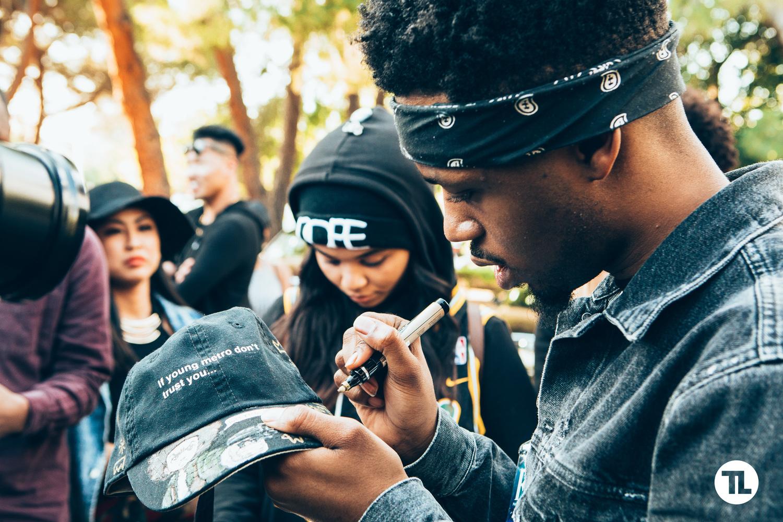 Metro Boomin Meet & Greet at 2016 Stanford Blackfest