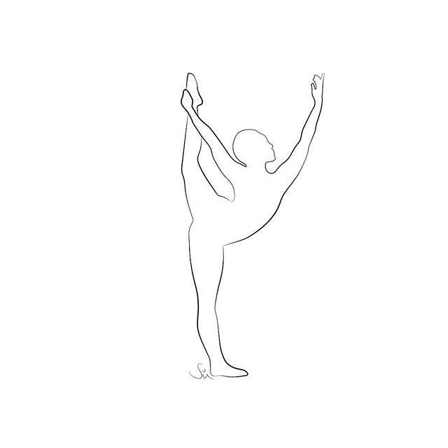 / D A N C I N G  I N  T H E  M O O N L I G H T 💃New tee coming soon to @stretchandrollclothing 💃 . .  #benddontbreak #spinehealth #figurativedrawing #flaminyogi #londonfitness #movingmeditation #openhips #mindfulmovement #yogalondon #movement #figurativedrawing #dancerpose 🖤 @yogetoverit