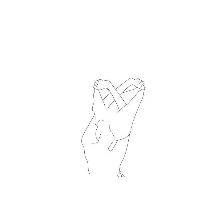 / ➰unravel ➰ . . . #summer #outfit #design #illustration #weekend #drawing #flaminyogi #lines #thehappynow #streetstyle #monochrome #linearyogi #minimalism #illustrator #slowfashion #fashiondiaries #thatsdarling #art #design #style