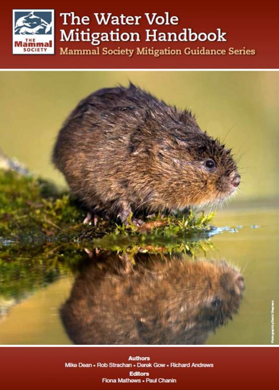 Water Vole Mitigation Handbook