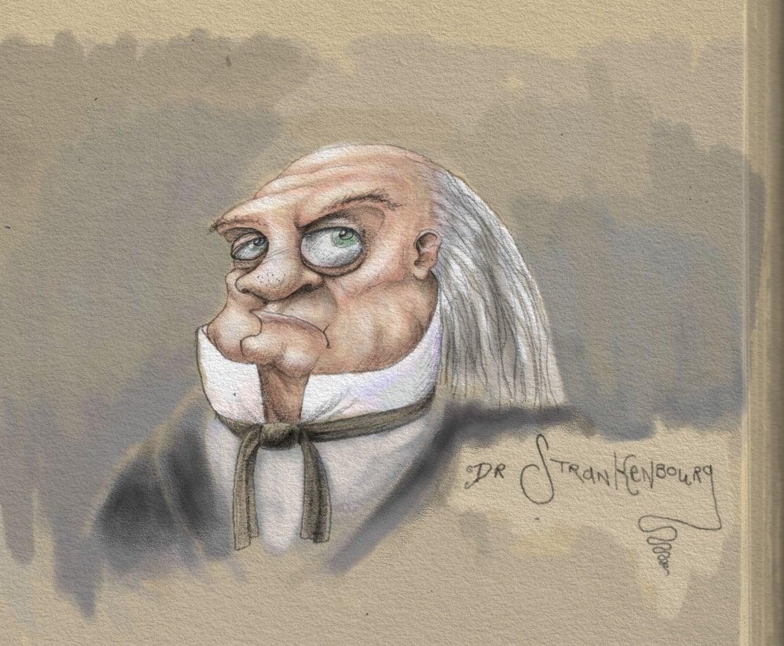 Victorian Doctor Illustration