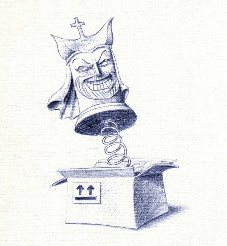 Jack-in-the-Box Illustration