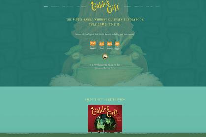 Galdo's Gift website