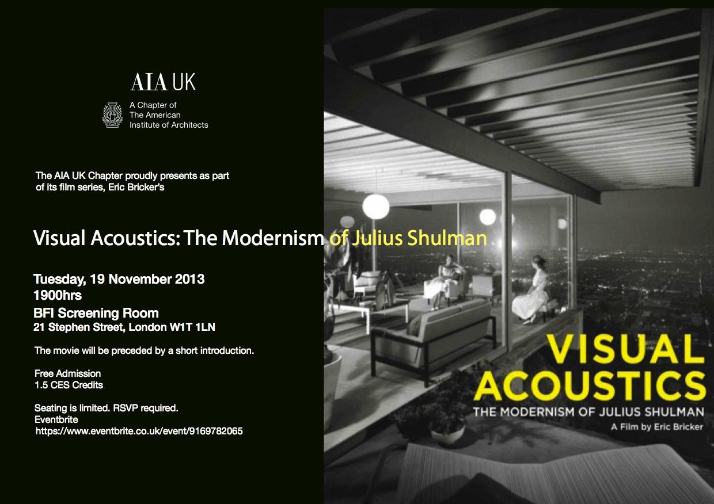 Visual Acoustics Film Night