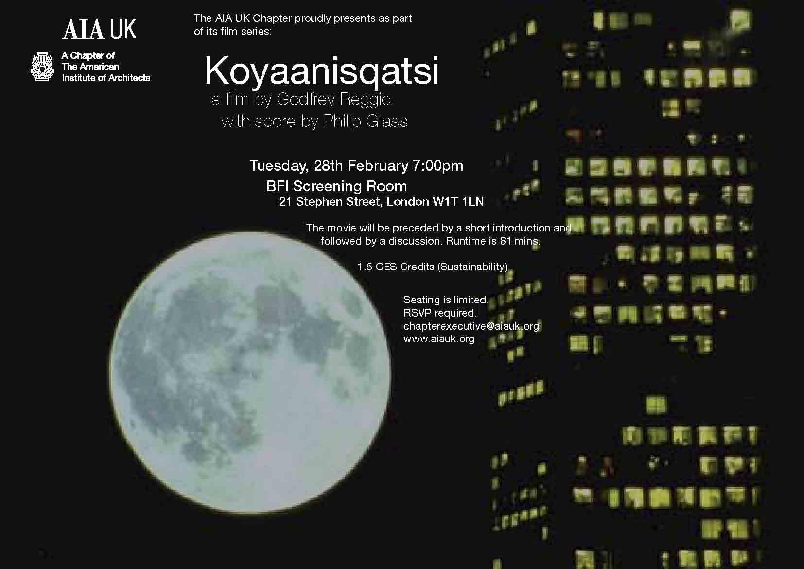 Koyannisqatsi Film Night
