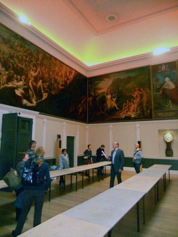 Tour visits the Great Room