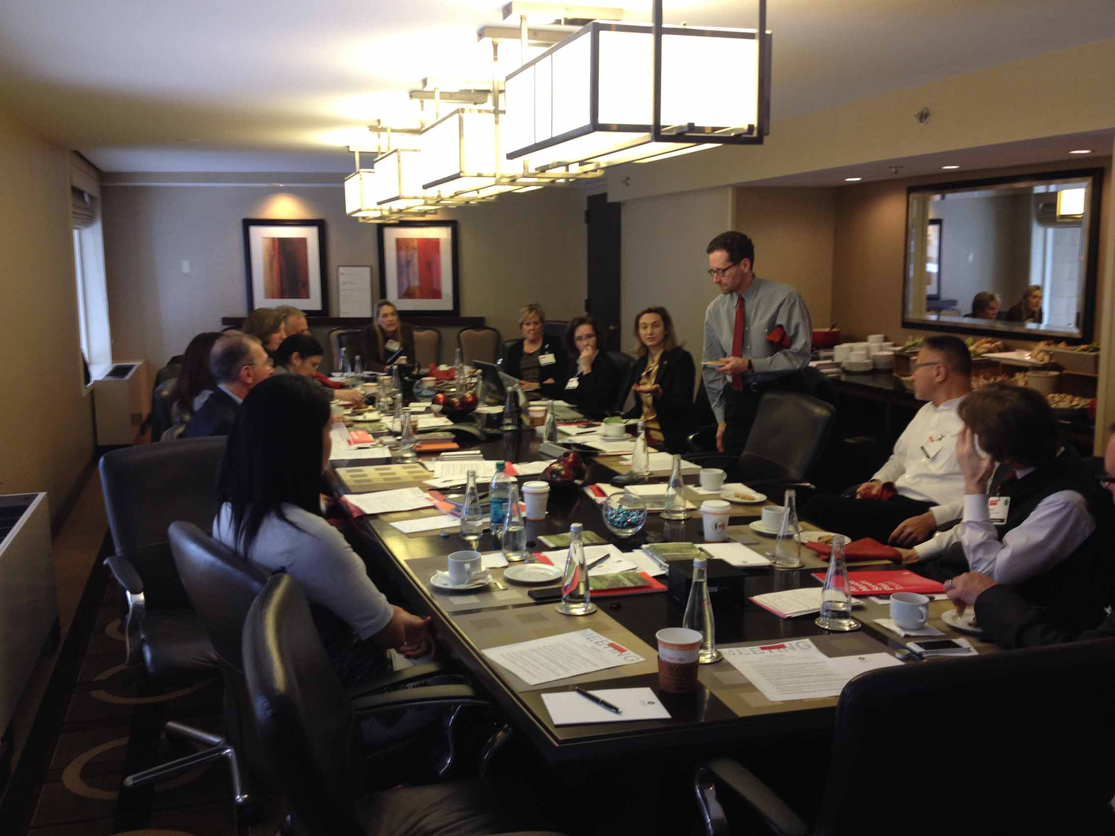 Photo of AIA International Region meeting at Hyatt Regency on Capitol Hill