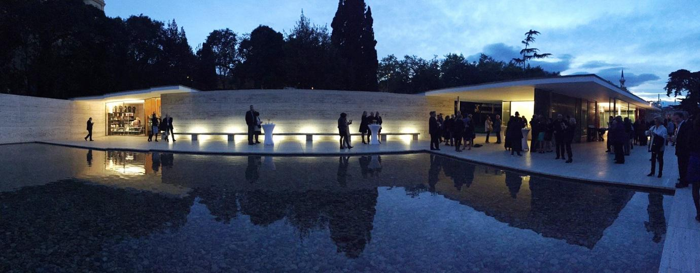 Photo credit: AIA Gala Dinner at the Barcelona Pavilion, 16 Apr 2016, Rebecca Ryburn
