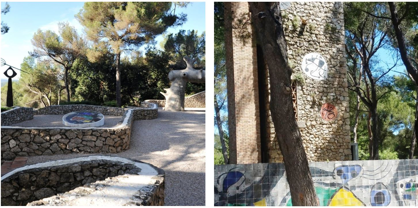 The Fondation Maeght and Labyrinth of Miró at– Photos: Lorraine King, AIA and Michael Lischer, FAIA