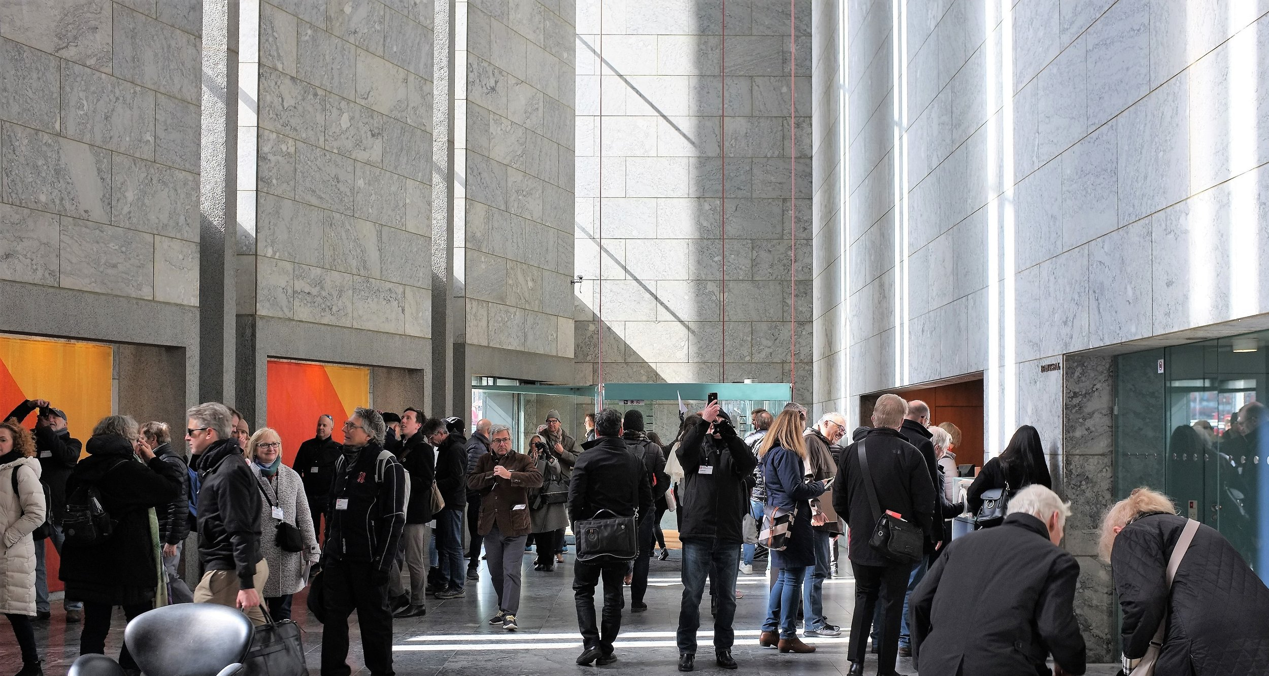 Arne Jacobsen's Danish National Bank… Photo Credit: R Rhodes, AIA