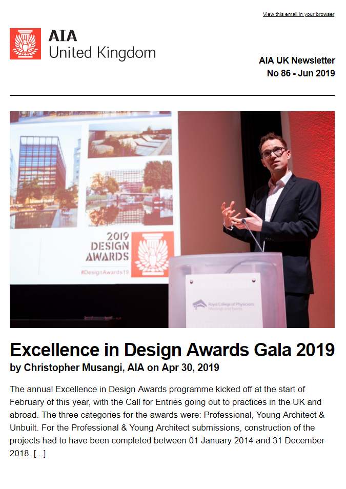 AIA UK Newsletter No 85